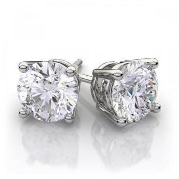14KT GOLD 0.75 CT.TW. Diamond Earrings