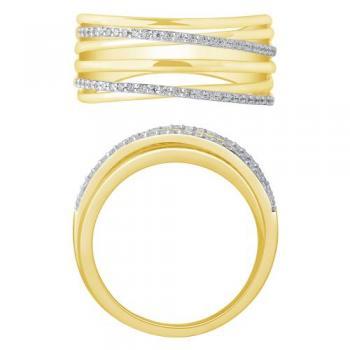 10KT GOLD 0.20CT FASHION LADYS RING